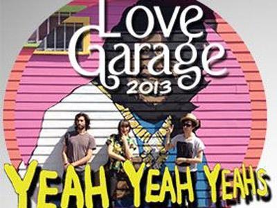 Love Garage 2013 Tampilkan Yeah Yeah Yeahs