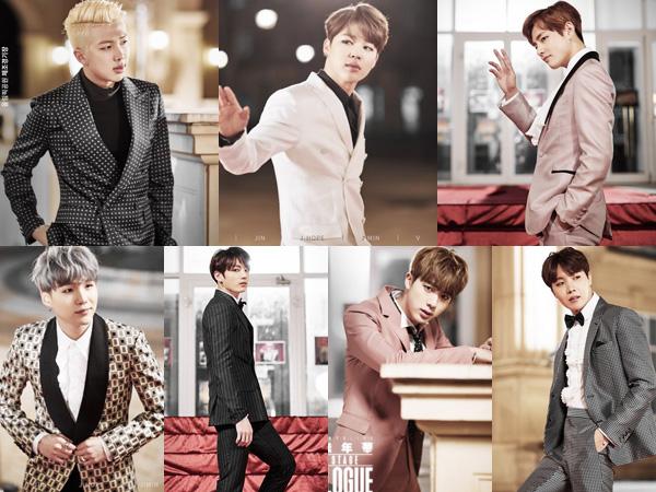Wow, Para member BTS Terlihat Tampan dan Classy di Poster Konser Eksklusifnya!