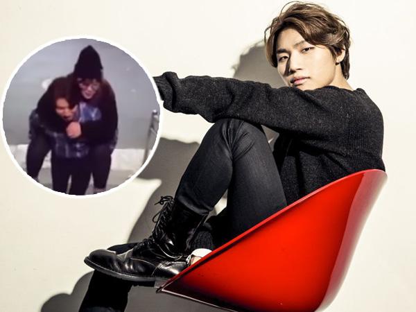 Tunjukan Sikap Gentleman, Daesung Gendong Penggemarnya Lewati Tangga Dalam Aplikasi 'V'