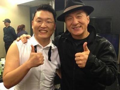 Apa Pendapat Jackie Chan Mengenai Kesuksesan Psy yang Mendunia?