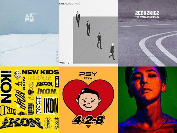 Artis YG Entertainment Banjiri Paruh Pertama Tahun 2017 dengan Album Baru