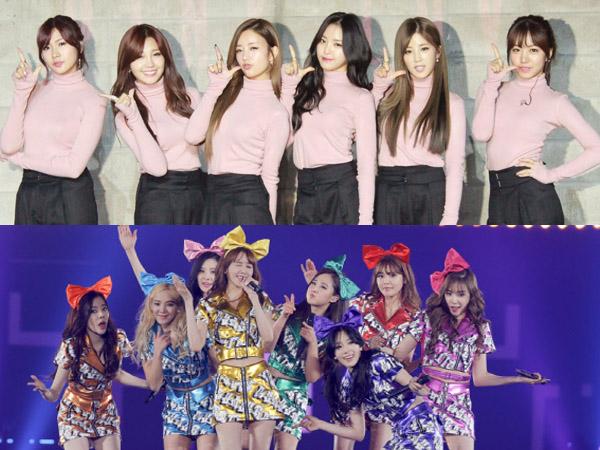 A Pink Sebut SNSD Sebagai Role Model Para Girl Group