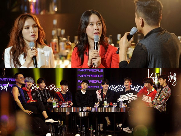 Kedatangan 'Ratu OST' dan EXO, 'JYP's Party People' Catat Rating Tertinggi