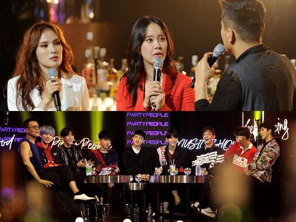 Kedatangan 'Ratu OST' dan EXO, 'JYP's Party People' Catat Rating Tertinggi