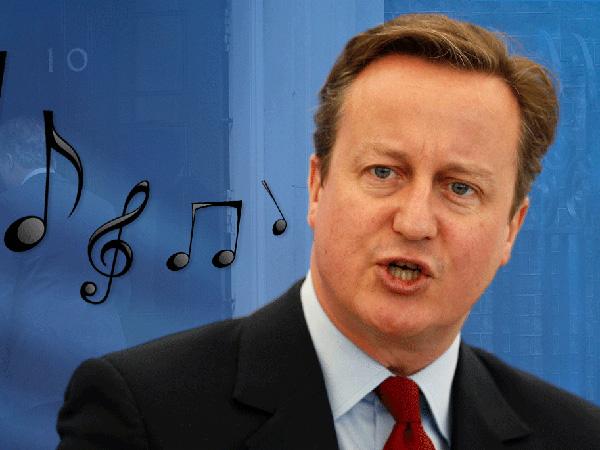 Pidato Perpisahan, Netizen Heboh Menganalisa Senandung Lagu PM David Cameron