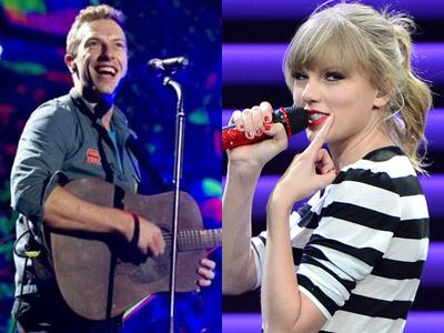 Taylor Swift dan Coldplay Saingan di Kategori 'Best Soundtrack' Golden Globe Awards 2014