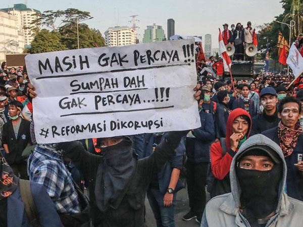 Intel Prediksi Demonstrasi Akan Terus Ada Hingga Pelantikan Jokowi 20 Oktober Mendatang?