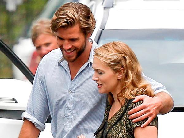 Wah, Liam Hemsworth Goda Kate Winslet yang Menjadi Dressmaker!