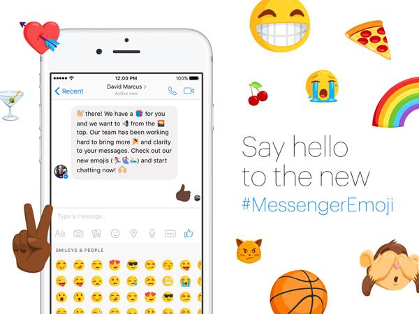 Wow, Facebook Messenger Berikan Update 1.500 Emoji Baru!