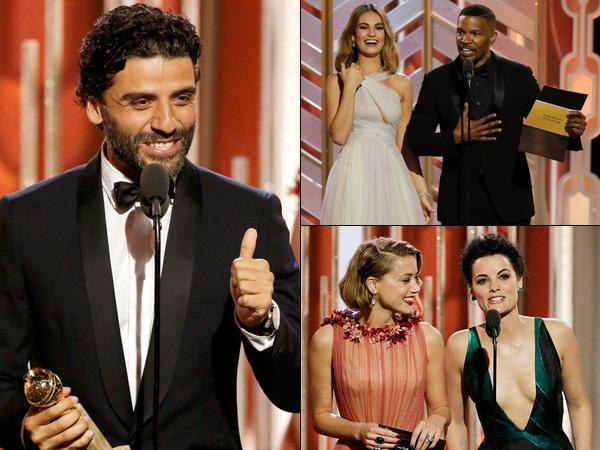 Dari Flu Hingga Kata Kasar, Simak Momen Menarik Sepanjang Golden Globe Awards 2016 (Part 1)