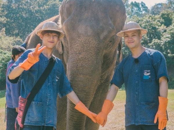 Jackson dan BamBam GOT7 Menari Untuk Warga Desa di Thailand