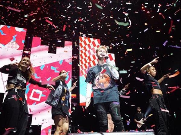 Pecah! HRVY Sukses Berikan Kenangan Spesial Hingga Bawakan Lagu Kolaborasi Dengan NCT Dream