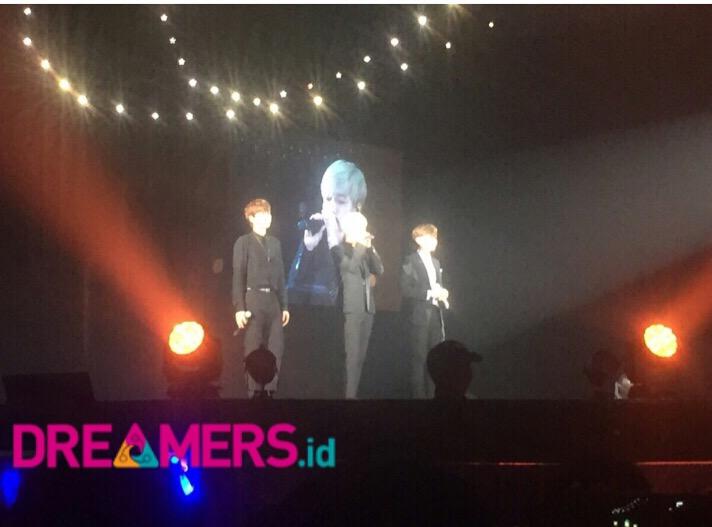 Disambut Meriah, Super Junior K.R.Y Sapa Fans Dengan Bahasa Indonesia!