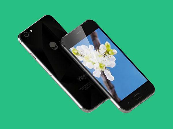 Smartphone Baru Buatan Korea Utara Ini 'Gabungkan' iPhone dan Samsung Galaxy