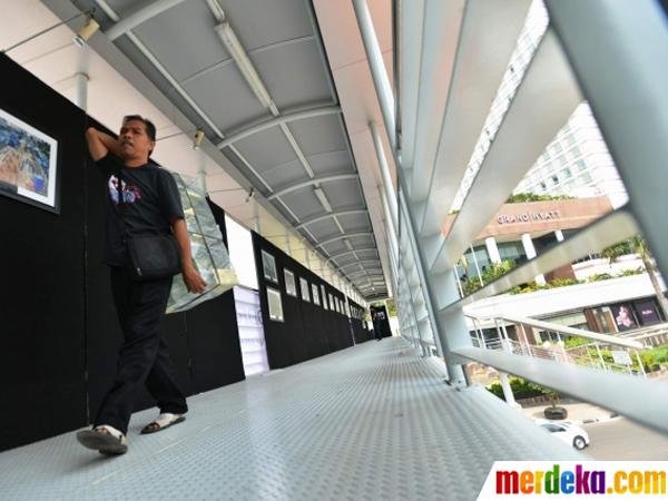 Jadi Sarang Kejahatan, Jembatan Penyeberangan Akan Dipasang CCTV dan Dipantau Polisi