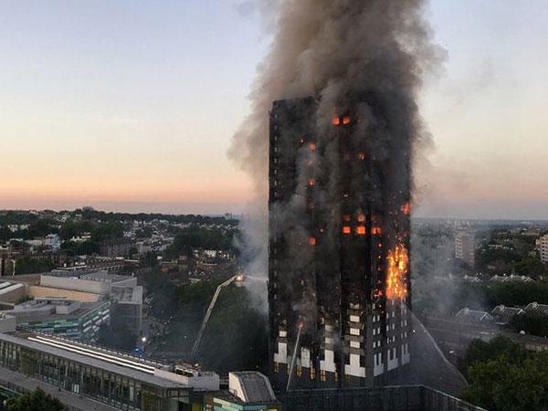12 Tewas dan Puluhan Orang Terluka Akibat Kebakaran Besar Apartemen di London