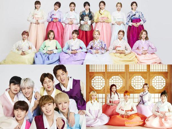 Rayakan Chuseok 2016, Intip Modisnya Para Idola K-Pop dengan Pakaian Hanbok