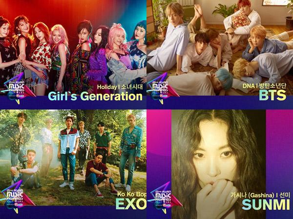 Persaingan Super Ketat, Berikut Daftar Nominasi Mnet 'MAMA 2017'! (Part 2)
