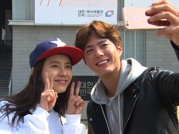 Spoiler, Ini Sebab Park Bo Gum Hadir dan Temani Song Ji Hyo di 'Running Man'