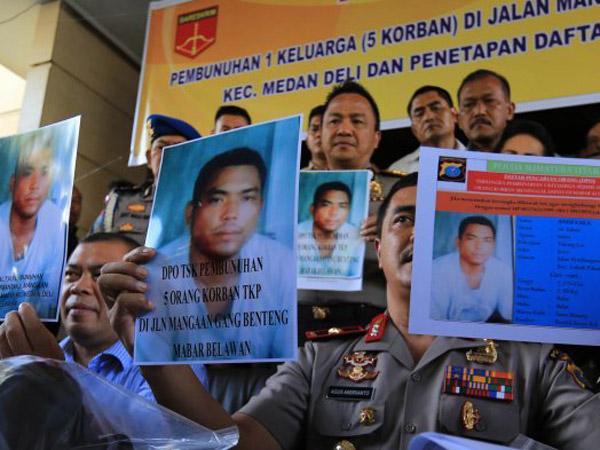 Diringkus dan Masih Ada Hubungan Keluarga, Ini Dugaan Alasan Pelaku Bunuh Satu Keluarga di Medan