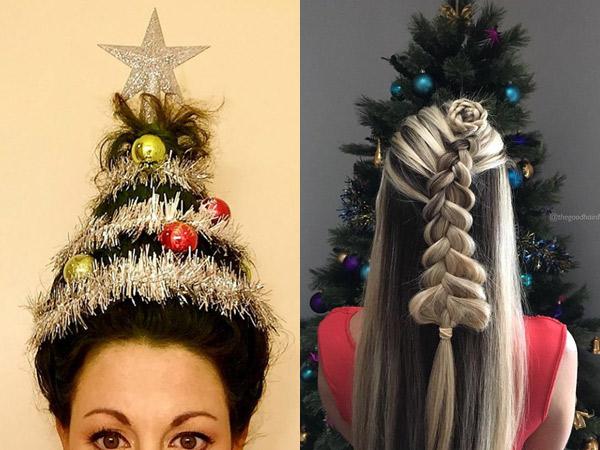 Gaya Rambut 'Christmas Tree' Ini Siap Meriahkan Suasana Hari Natal