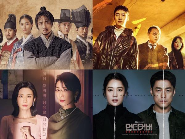 5 Drama Korea Cetak Rekor Rating untuk Episode Akhir Pekan Kemarin