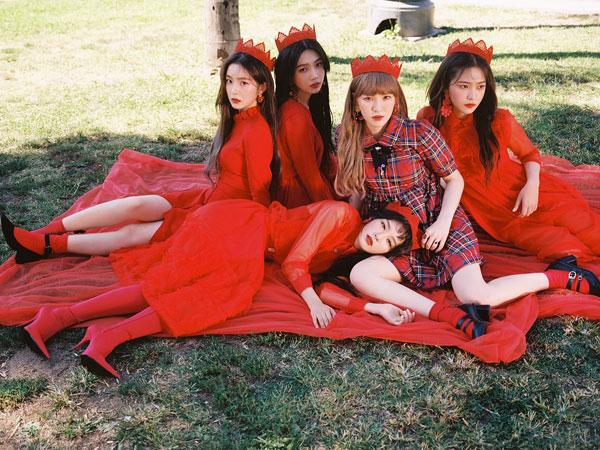 Keren! Red Velvet Jadi Girl Group K-Pop Pertama yang Puncaki Chart Billboard dengan 4 Album