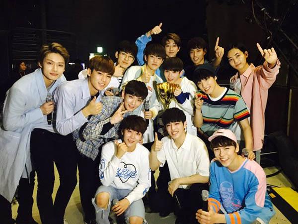 Congrats, Seventeen Akhirnya Raih Piala Pertama di Program Musik 'Show Champion'!