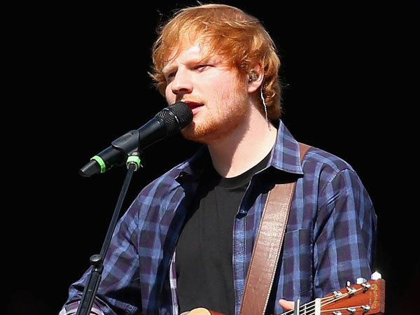 Ngefans Berat, Fans Korea Selatan Ini Sebut Ed Sheeran Jelek?