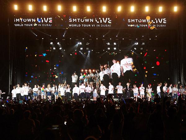 Satu Fakta Menarik dari Konser 'SMTOWN Live in Dubai' yang Bikin Damai