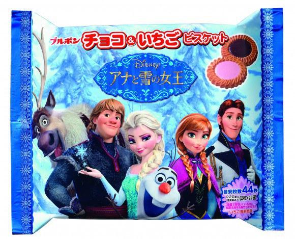 Wah, Snack-snack Ini Bergambar Tokoh Film 'Frozen'!