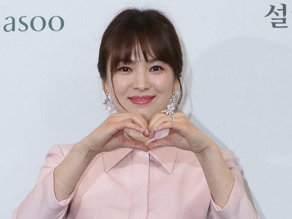 Ultah ke 38 Tahun, Song Hye Kyo Apresiasi Kado Tak Terhingga dari Fans hingga Keponakan di Bali