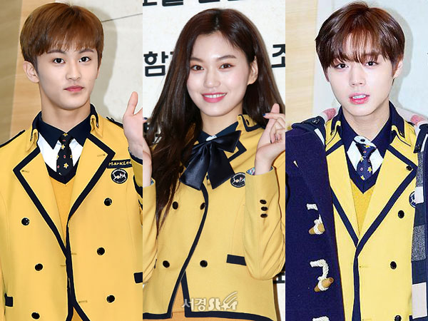 Sederet Idola K-Pop 'Line 99' Hadiri Acara Kelulusan SMA School of Performing Arts Seoul