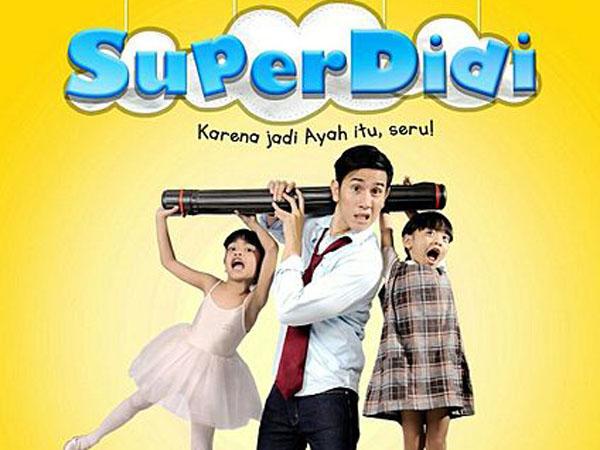 Ungkap Sisi Seru Peran Menjadi Seorang Ayah Lewat Film 'Super Didi'
