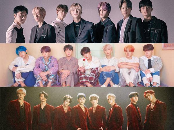 SuperM No. 1, Inilah Album K-Pop yang Tempati Posisi di Chart Billboard World Albums Minggu Ini