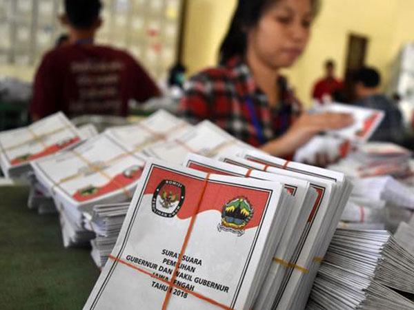 Hasil Akhir Quick Count Pilkada Serentak di 3 Wilayah Pemilu Gubernur Pulau Jawa
