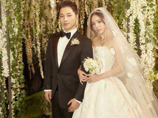 Mengintip Menu Fine Dining di Pesta Pernikahan Taeyang & Min Hyo Rin