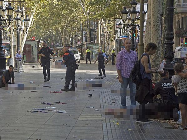 Polisi Tembak Mati 4 'Terduga Teroris' Pasca Teror Barcelona, Ada Berapa Pelaku?