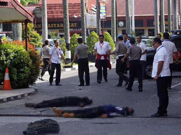 Identitas Empat Teroris yang Ditembak Mati Polisi Pasca Serang Mapolda Riau