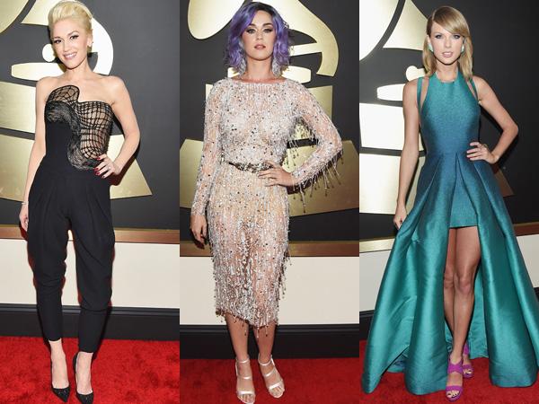 Inilah Para Selebriti dengan Gaun Terbaik di 'Grammy Awards 2015'