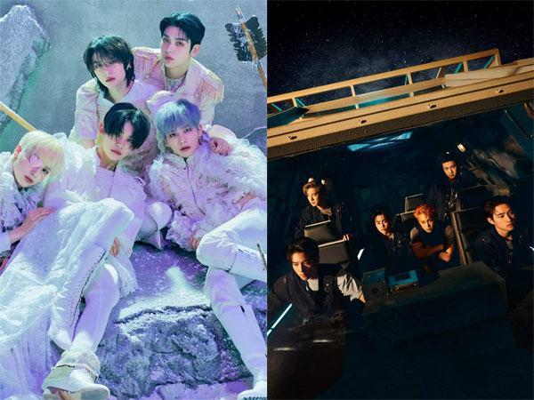 TXT Rebut Posisi Puncak, EXO Debut di Chart Billboard World Albums Minggu Ini