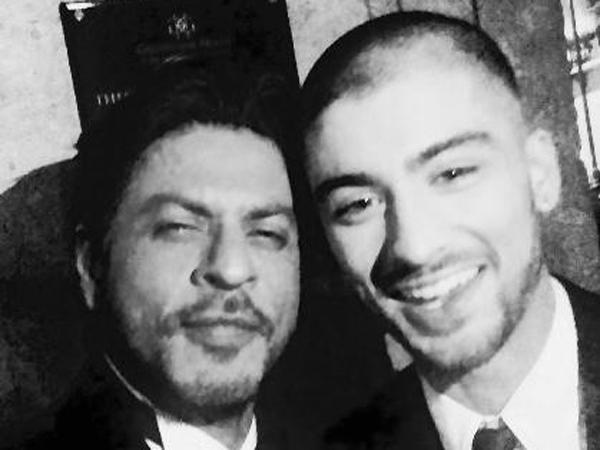 Bersiap Solo Karir, Zayn Malik Dipuji Bintang Bollywood Shahrukh Khan