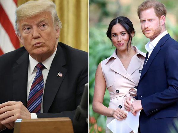 Presiden Trump Singgung Meghan Markle dan Pangeran Harry yang Pindah ke Amerika