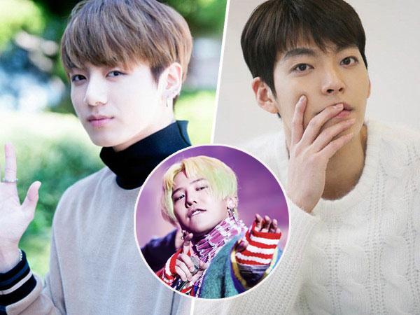 Tak Hanya Wanita, Ini Beberapa Seleb Pria Korea yang Juga Ngaku Fans Berat G-Dragon!