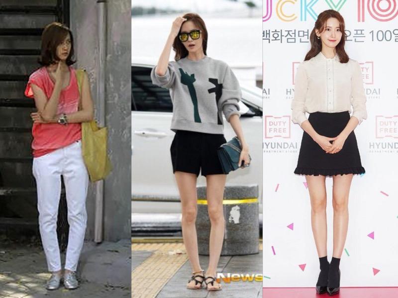 Bikin Takjub, YoonA SNSD Sukses Perbaiki Postur Kakinya