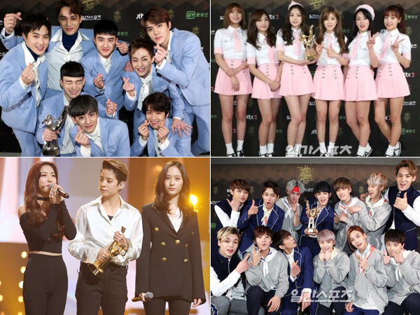 EXO Kembali Berjaya, Ini Daftar Pemenang '30th Golden Disk Awards' Hari Kedua