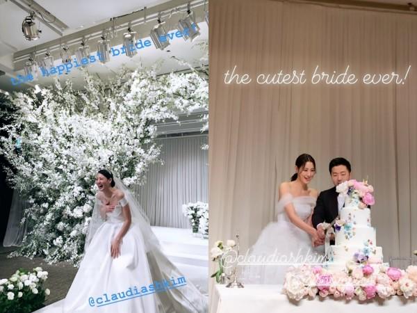 Congrats, Aktris Claudia Kim Resmi Menikah!