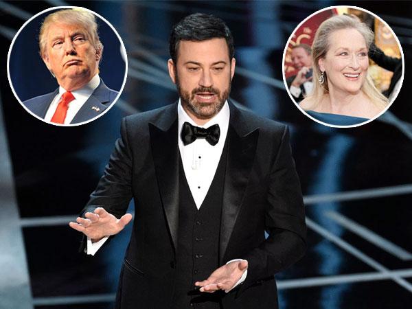 Buka Oscar 2017, Jimmy Kimmel Sindir Donald Trump dan 'Puji Habis' Meryl Streep
