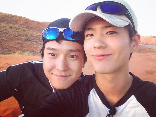 Park Bo Gum dan Go Kyung Pyo Tertangkap Liburan Berdua Ala Backpacker