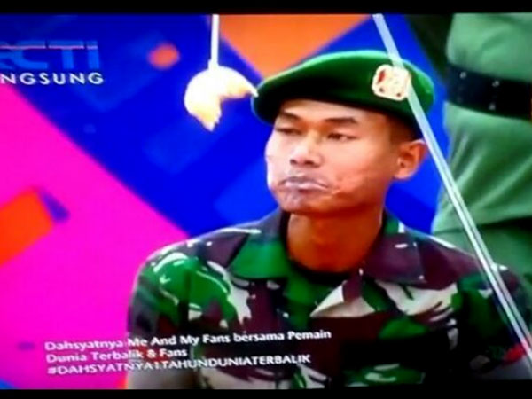 Dinilai Lecehkan TNI, Host Dahsyat RCTI Ini Dilaporkan ke Polisi!